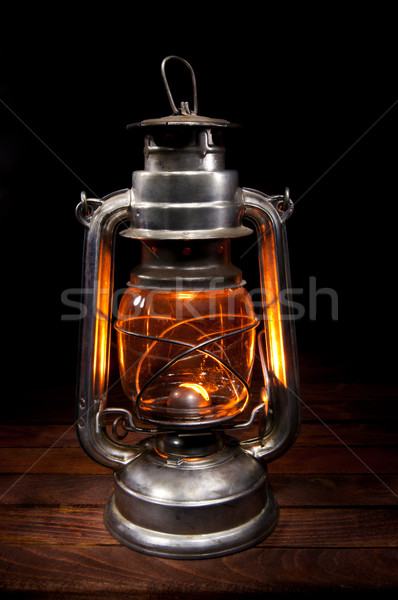 Antique Oil Lamp Stock photo © IvicaNS