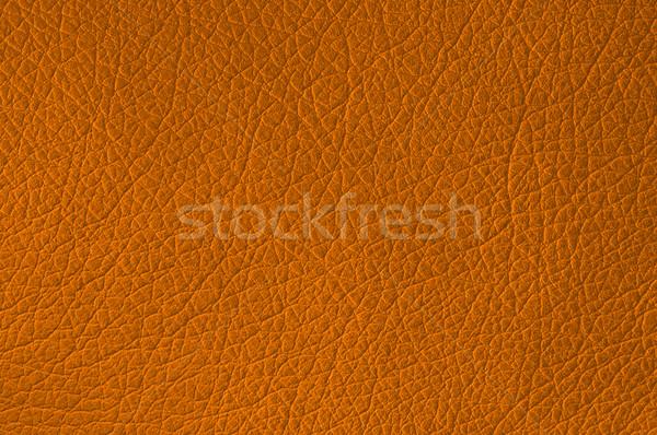 Leder textuur oranje nuttig natuur Stockfoto © IvicaNS