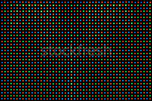 RGB led diode display panel Stock photo © IvicaNS