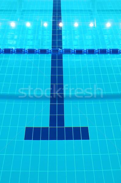 Yüzme havuzu detay su hatları ev Stok fotoğraf © IvicaNS