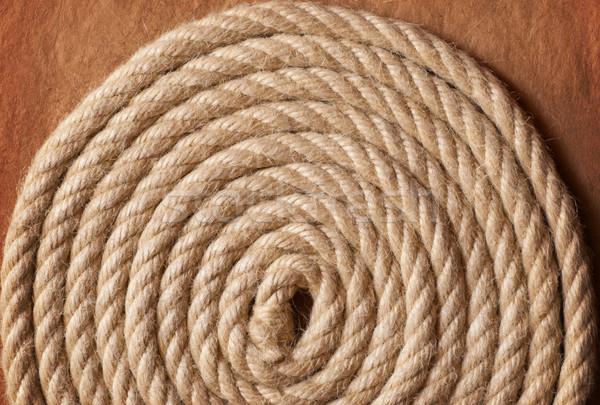 Stock fotó: Régi · papír · kötél · kopott · hajó · retro · kagyló