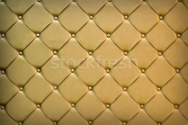 Couro luxo dourado fundo tecido Foto stock © IvicaNS