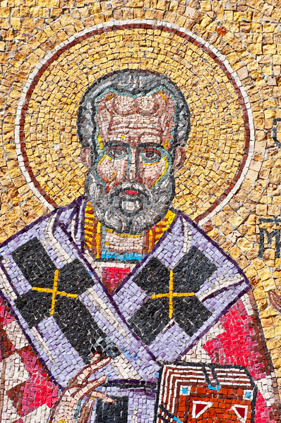mosaic of Saint Nicholas  Stock photo © IvicaNS