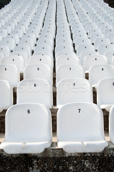 Plástico vazio branco futebol futebol tênis Foto stock © IvicaNS