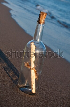 Message in a bottle Stock photo © IvicaNS