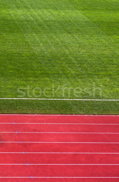 çalışma izlemek futbol sahası atış futbol alan Stok fotoğraf © IvicaNS
