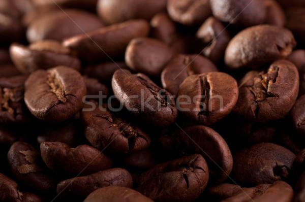 コーヒー豆 クローズアップ 中古 コーヒー 黒 農業 ストックフォト © IvicaNS