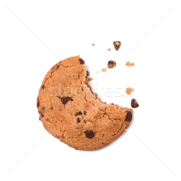 Chocolat puce biscuit mordre manquant Photo stock © ivo_13