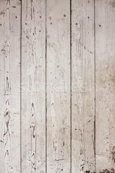 Beyaz ahşap doku doğal desen doku ahşap Stok fotoğraf © ivo_13