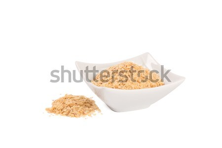 Wheat germ, the highly nutritious heart of the wheat kernel. Stock photo © ivo_13