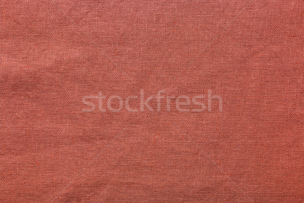 Red burlap background and texture Stock photo © ivo_13