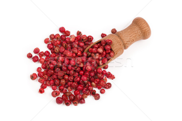 red peppercorns isolated on white background Stock photo © ivo_13