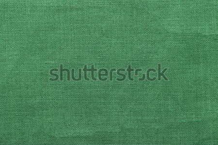 green burlap background and texture Stock photo © ivo_13