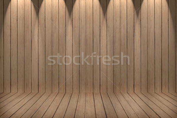 Duvar zemin yıpranmış ahşap ahşap doku dizayn Stok fotoğraf © ivo_13