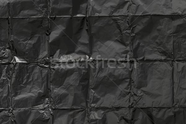 Creased aluminum foil texture Stock photo © ivo_13