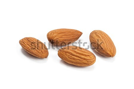 Almonds isolated on white background Stock photo © ivo_13