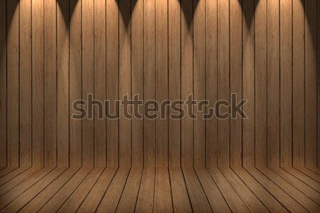 wall and floor siding weathered wood background, wood texture Stock photo © ivo_13