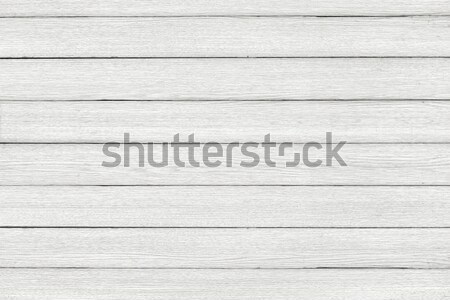 Stock photo: White washed floor ore wall Wood Pattern. Wood texture background.