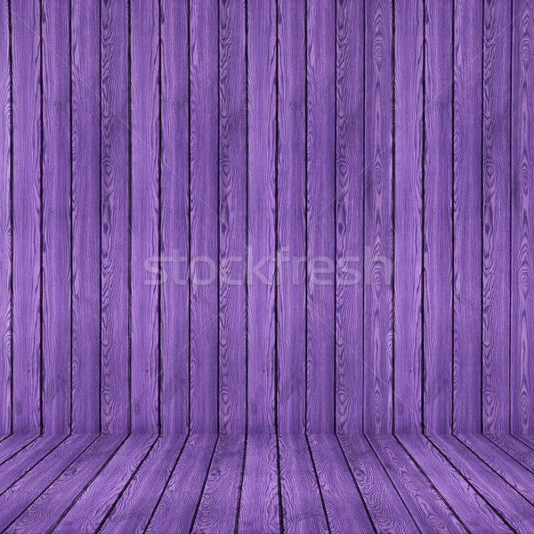 Wood texture background. purple wood wall and floor Stock photo © ivo_13