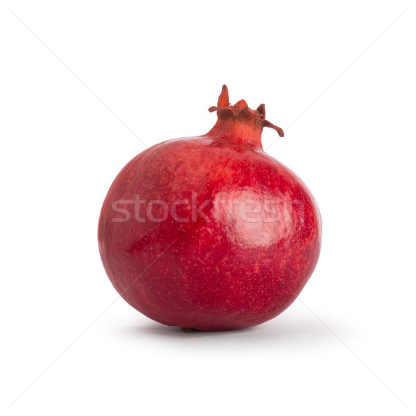 Pomegranate. Fresh raw fruit isolated on white background. With clipping path. Stock photo © ivo_13