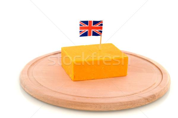 Cheddar sajt specialitás Stock fotó © ivonnewierink