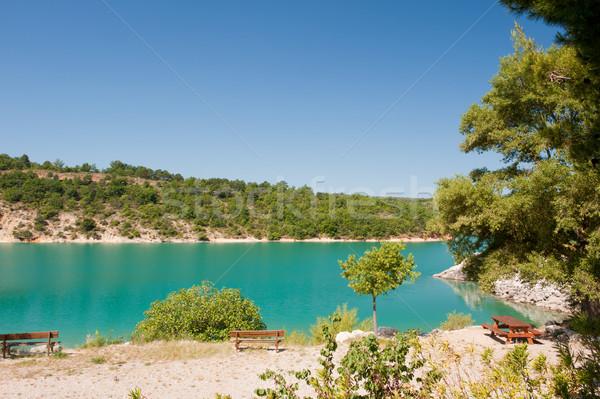 Lac de Saint Croix Stock photo © ivonnewierink