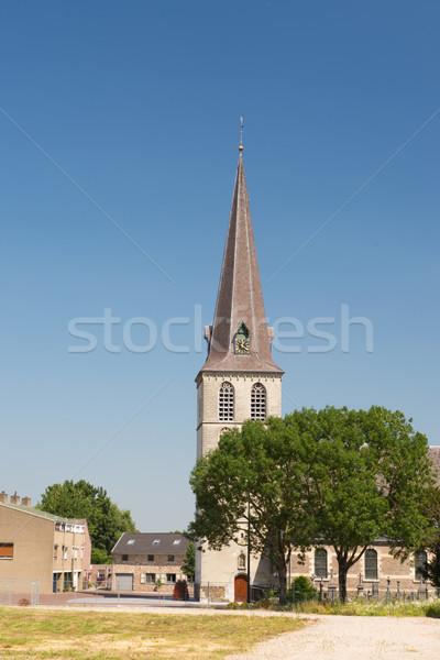 Igreja holandês aldeia holandês Foto stock © ivonnewierink