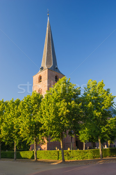 Little Church in Holland Stock photo © ivonnewierink