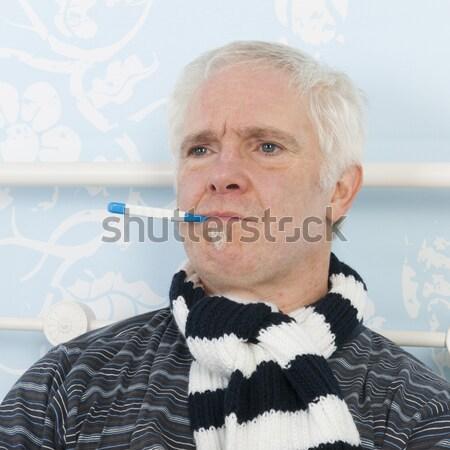 Senior man Stock photo © ivonnewierink