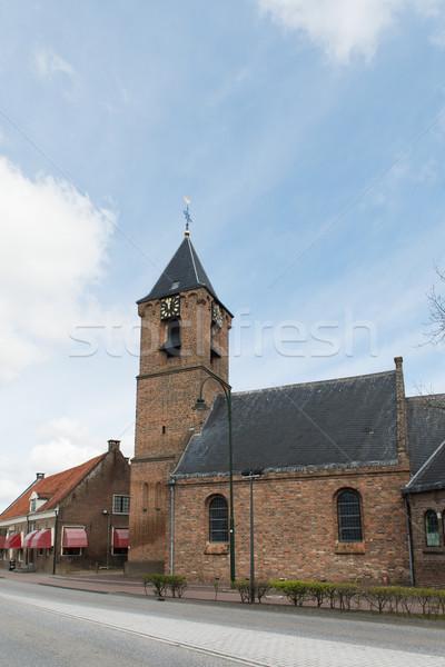 Dutch church Stock photo © ivonnewierink