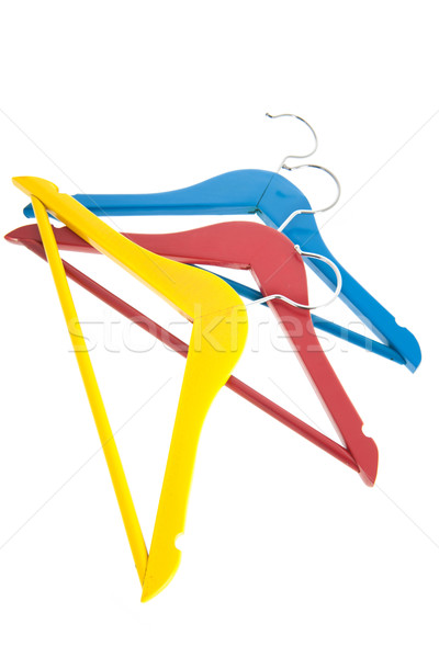 Clothes hangers Stock photo © ivonnewierink