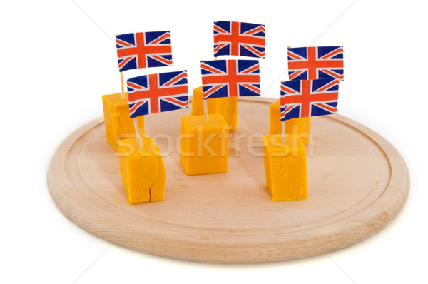 Cheddar cheese Stock photo © ivonnewierink