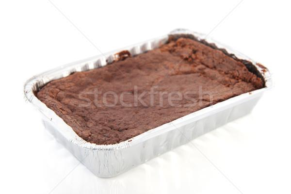 Chocolate brownies Stock photo © ivonnewierink