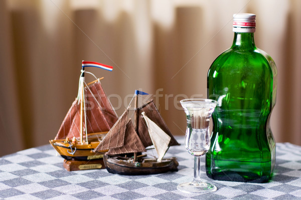 Dutch drink and boats Stock photo © ivonnewierink