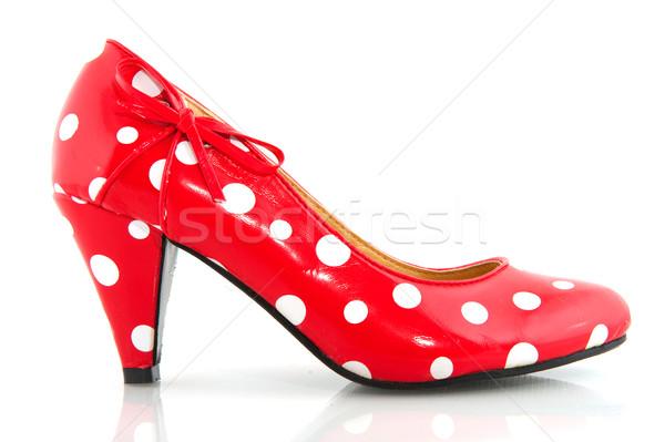Ladies shoe Stock photo © ivonnewierink