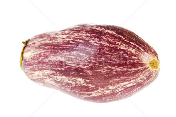 Purple white aubergine Stock photo © ivonnewierink