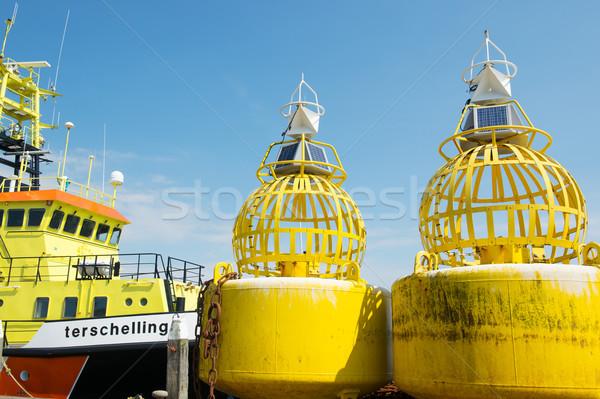 Mare colorato navigazione isola barca Foto d'archivio © ivonnewierink