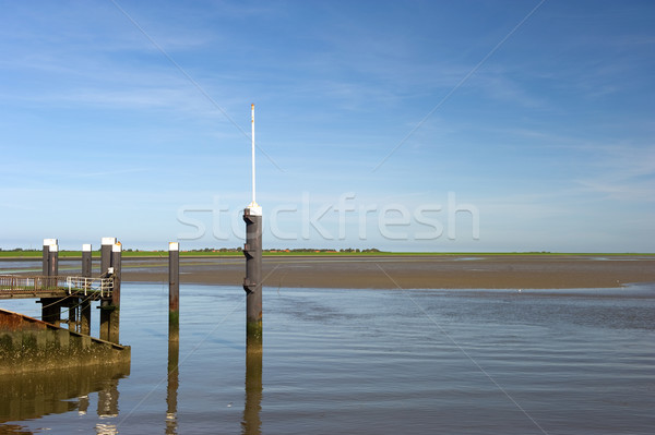 Landings place for ferryboats Stock photo © ivonnewierink