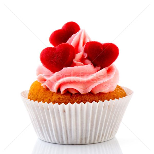 Love cupcakes Stock photo © ivonnewierink