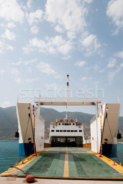 Grieks pont haven Stockfoto © ivonnewierink