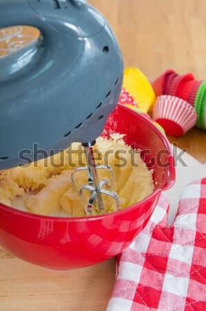 Baking cupcakes Stock photo © ivonnewierink