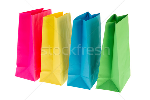 Empty paper bags Stock photo © ivonnewierink