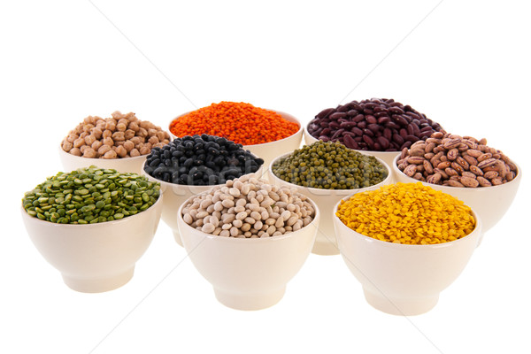 Assortment legumes Stock photo © ivonnewierink