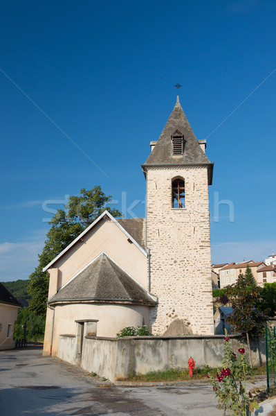 Village Neffes in the Haute Provence Stock photo © ivonnewierink