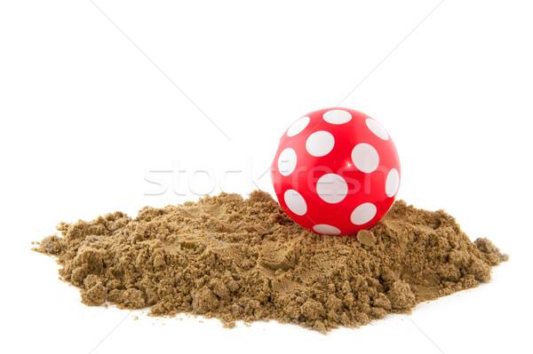 Ball at the beach Stock photo © ivonnewierink