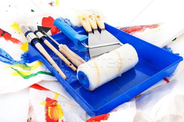Painters equipment Stock photo © ivonnewierink