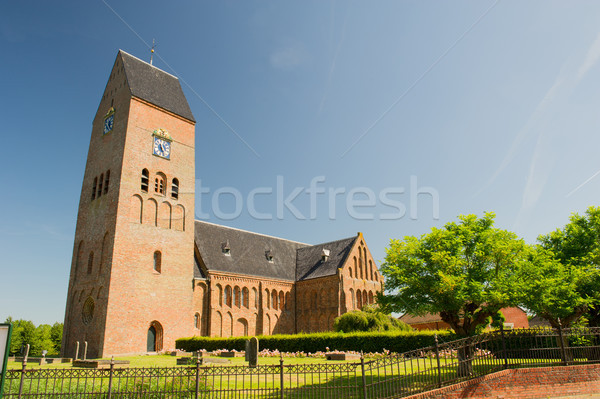 Dutch church in Groningen Stock photo © ivonnewierink