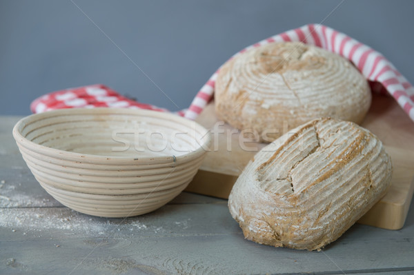 Fresh baked bread Stock photo © ivonnewierink