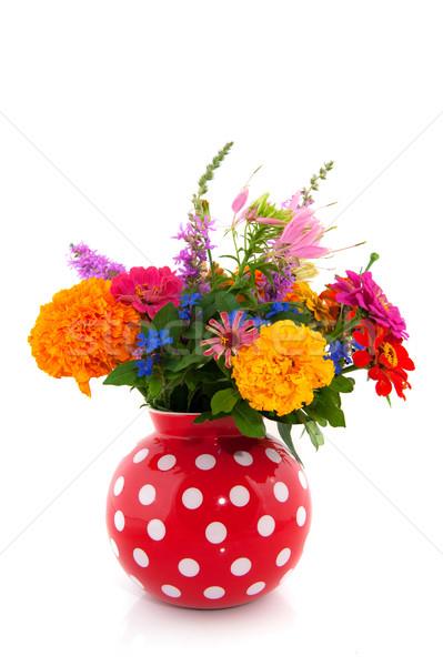 cheerful summer bouquet Stock photo © ivonnewierink