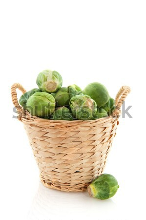 Sprouts in a basket Stock photo © ivonnewierink